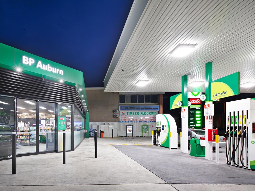 bp service station plumbers