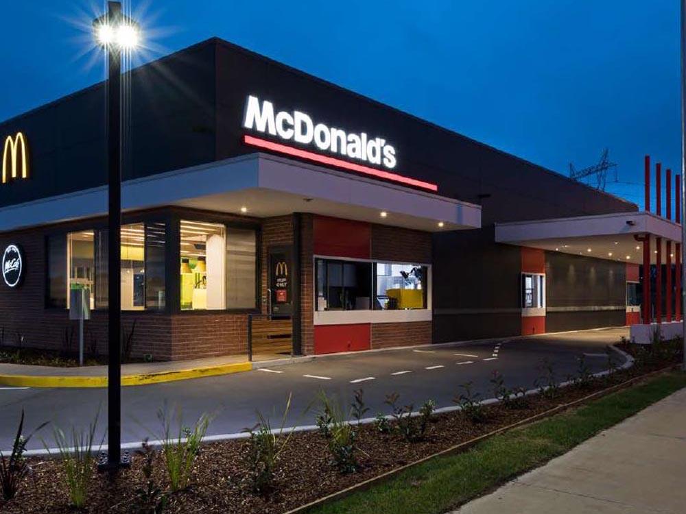 mcdonalds restaurant plumbers