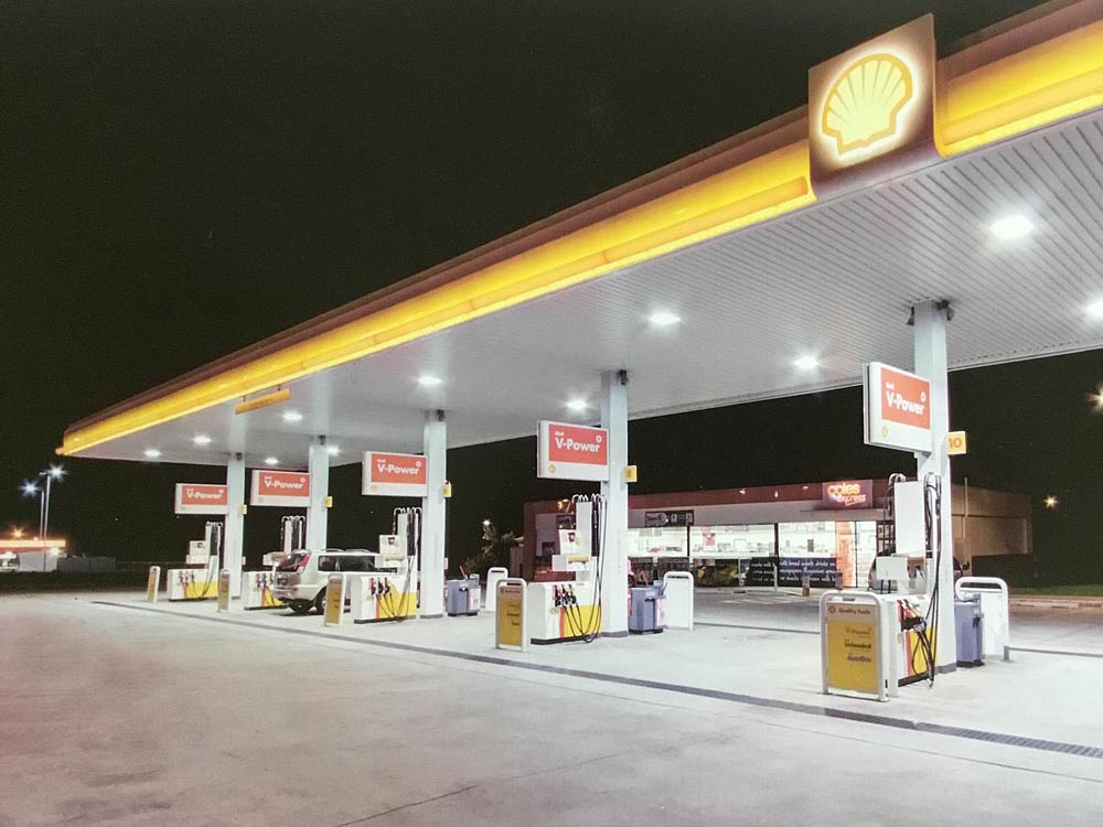 shell service station plumbers
